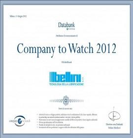 Company to watch 2012 News